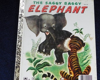 The Saggy Baggy Elephant by Little Golden Book