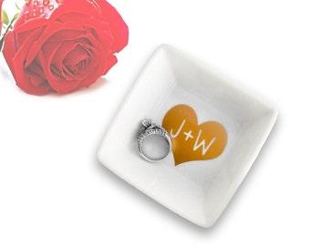 Ring Dish - Jewelry Dish - Jewelry Holder - Jewelry - Hello Gorgeous - Wedding Gift - Bridal Shower - Engagement