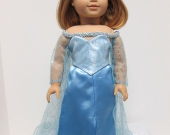 American made doll clothes for 18 inch girl doll dress