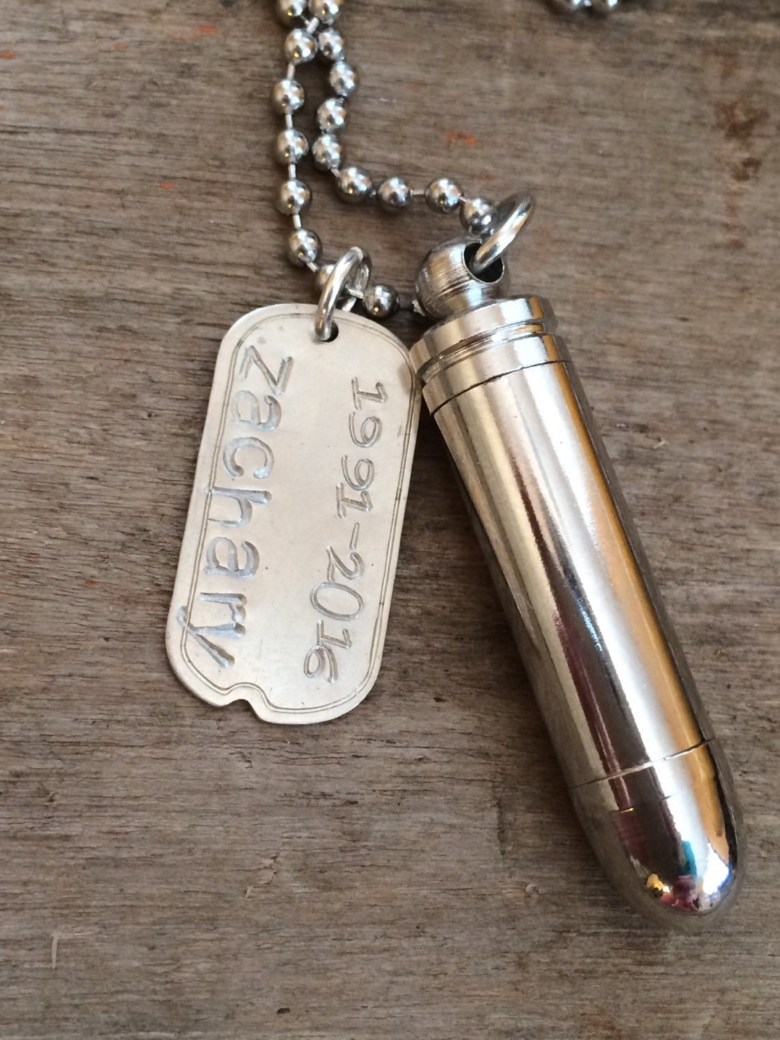 Mens Urn For Ashes Pendant Necklace Unique Memorial Urn