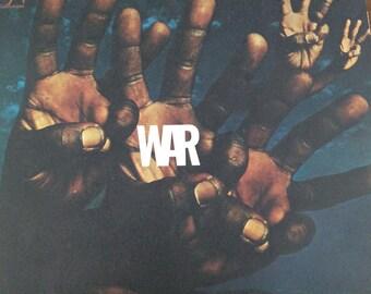 War - vinyl record