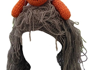 Mad Cat Lady Crocheted Hat