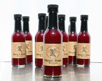 Blueberry & Habanero Hot Sauce