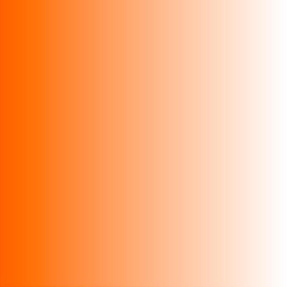 Orange Ombre Print Heat Transfer Or Adhesive Vinyl Sheet