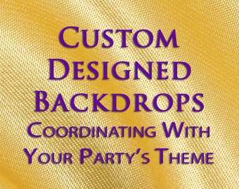 Birthday Backdrop, Custom Backdrop, Party Theme Backdrop, Kids Party Backdrop, Party Background, Photo Booth party Backdrop