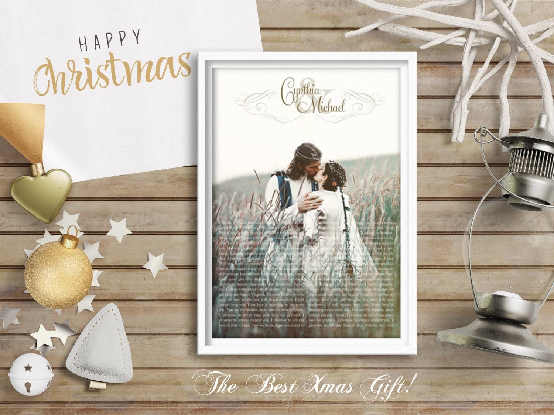 Wedding Vows Gift: Husband Gift Wedding Vows Boyfriend Gift Anniversary Gift