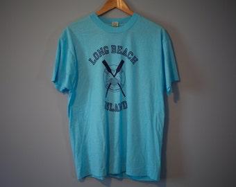 Vintage Long Beach Island Beach Patrol T-Shirt 80s