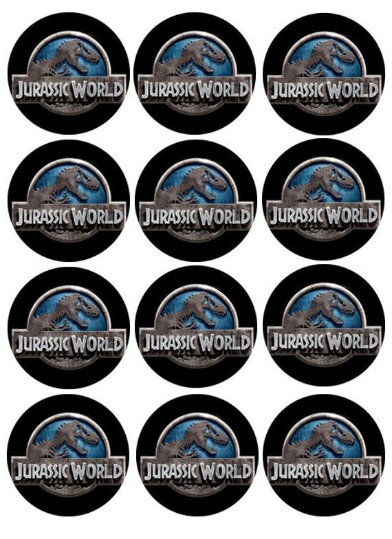 JURASSIC WORLD edible cake toppers jurassic world edible