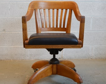 Vintage Executive Swivel Office Chair