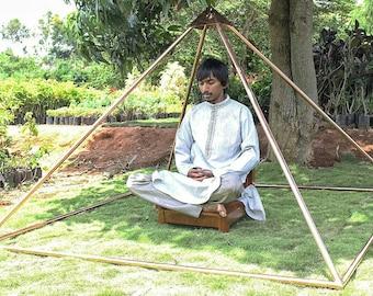 Copper Giza Lite Duty 6 feet Meditation Pyramid for Self Healing