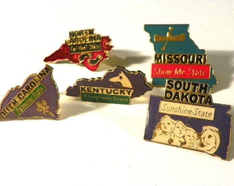 American States Hat Pins Tie Pin Lapel Pin Your Choice Free Domestic Shipping
