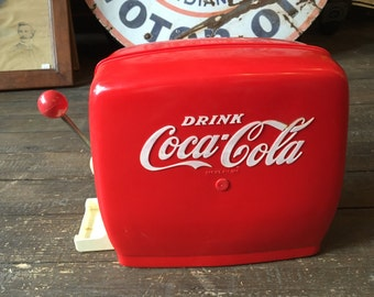 Vintage 1960'S Chilton Toy Coca-Cola Coke Soda Fountain Dispenser