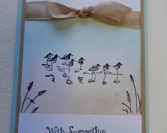Wetlands Sympathy Card