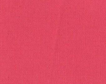 Strawberry, Bella Solids, Prairie, from Moda