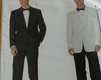 Mens Vogue Tuxedo Pattern - V2383 - UNCUT - Sizes 44, 46, 48