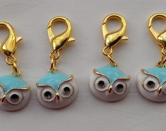 Crochet Stitch Markers   Owls