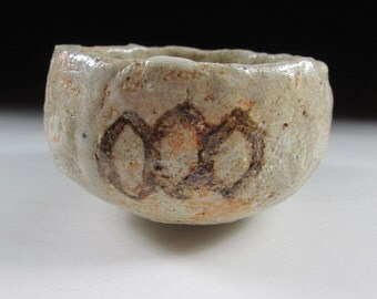 Hand-Shaped Shino-ware Chawan