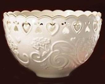 Lenox Floating Heart Bowl