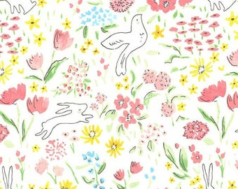 Sommer Garden Bloom Sarah Jane for Michael Miller - 1/2 Yard