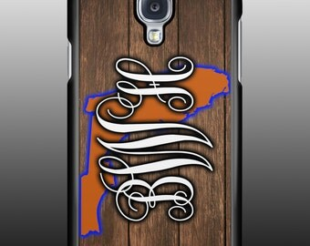 Personalized Florida state monogram Galaxy or IPhone cell phone case