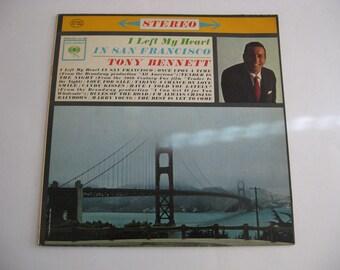 Tony Bennett - I Left My Heart In San Francisco - Circa 1962