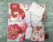 """Fox Field by Tula Pink for Free Spirit Fabrics  - Charm Pack - 30 5"""" squares"""