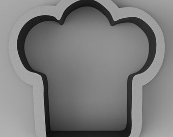 Chef's Hat Cookie Cutter, Various Sizes