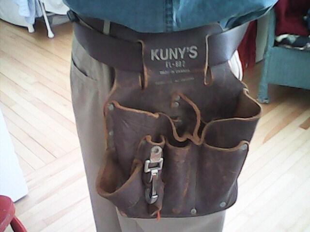 leather tool belt vintage kuny s canada e l 802 steunk