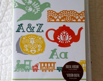 Folk Art Festival Cricut Cartridge