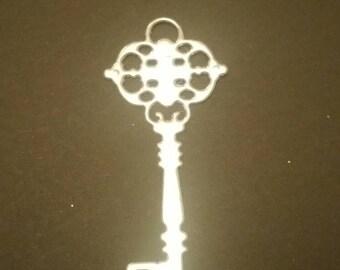 15 die cut silver keys