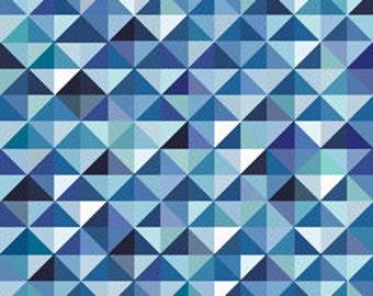 Blue Mosaic - cross stitch pattern