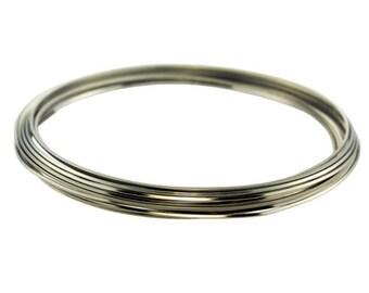 Craft Wire Square Titanium Color 21ga 4yd Spool (WR6221T)