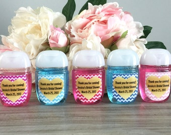 to custom baby shower owl hand sanitizer labels favors on etsy