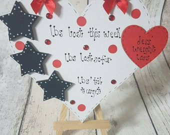 Weight Loss Plaque Magnet Only (stars)