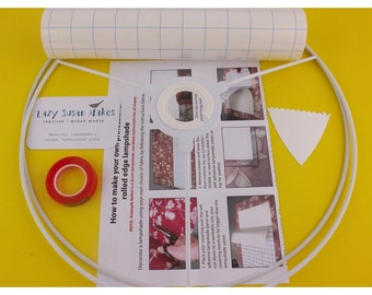 Lampshade making kit 20cm 30cm drum