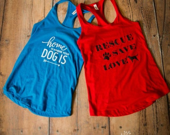 Gifts for Dog Lovers T Shirt, Two tank tops, Pair, Dogs