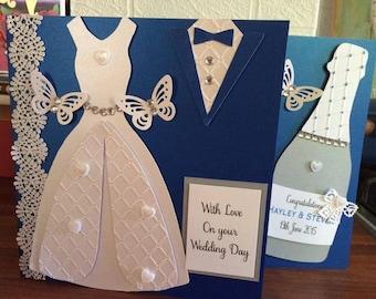 Extra Special Wedding card, wedding card, celebration card, bride and groom card, daughter wedding card, son wedding card