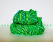 Handspun yarn, Jaded Colorway