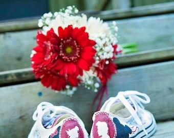 Disney/USC Wedding Shoes