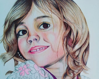 Personalised pencil portrait from your own photograph