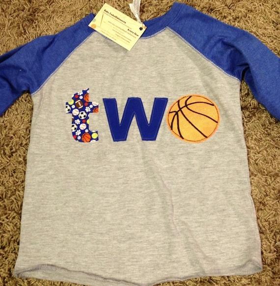 Basketball 1st, 2nd birthday shirt, sports themed birthday, one, two shirt