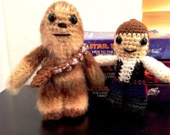 Chewbacca Crochet Doll - Chewbacca  Plush - Star Wars Chewbacca  Plush - Chewbacca  Amigurumi