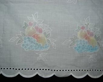 Fruit valance fabric