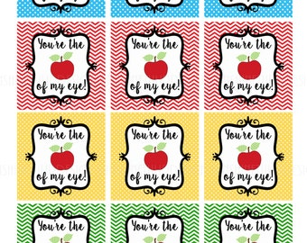 Printable Teacher Appreciation Tags Take Note You are Awesome