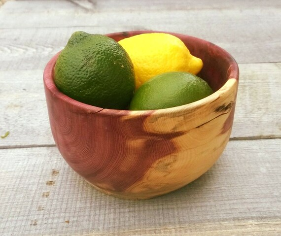 Half off red cedar bowl juniper fruit by sodacreek