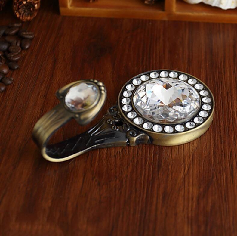 Glas dekorative kleiderhaken haken wandhaken klar silber gold - Wandhaken kupfer ...