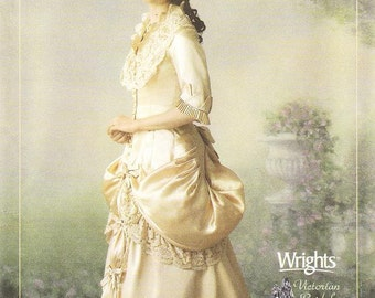 Simplicity 4244 Misses' Victorian Bridal Sewing Pattern, 6-12