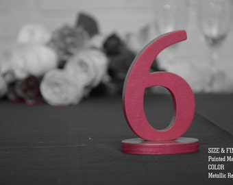 Metallic SET 1-40, Table Number, Wedding Reception Table, 10 table numbers