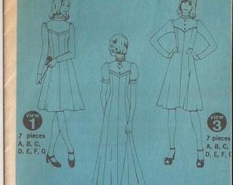 Simplicity 5299 Misses Dress Pattern, Size 8. Vintage 1960's