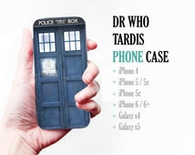 Doctor Who Tardis - iphone 6 + 4,5,c,s S4, S5 Leather Phone Cover Case Wallet Cards/I.D Space